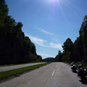 What a beautiful scenery! One of the longest original 4 lane road, still in use today. Hooker's Cut, MO.