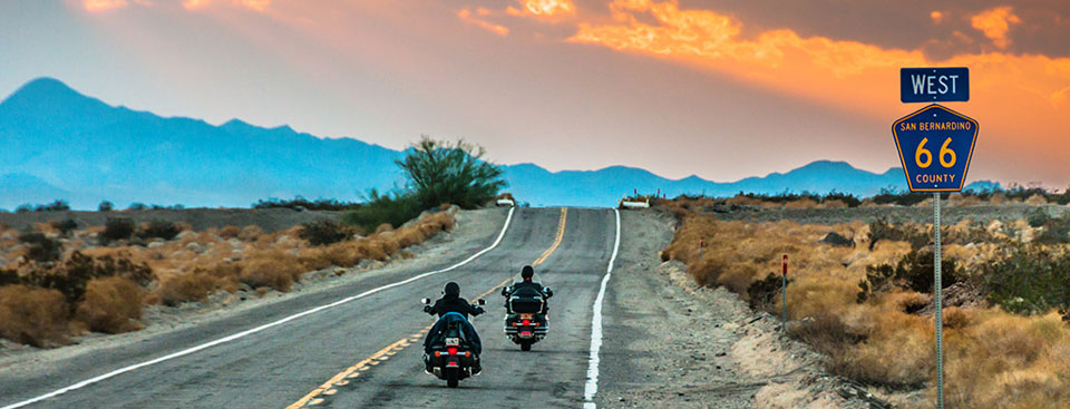 "USA Route 66 Holidays / Rent a Harley or BMW and ""Hit the ..."