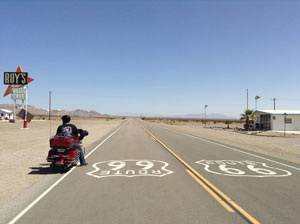 standard route 66 tour bike motorcycle