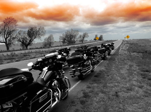 motorcycle bike tour on route 66