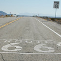 A classical piece of old route 66. Around Amboy, CA.