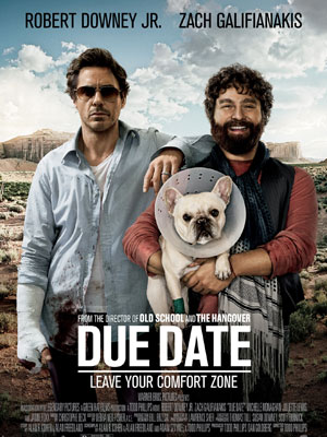 Due Date (2010), route 66