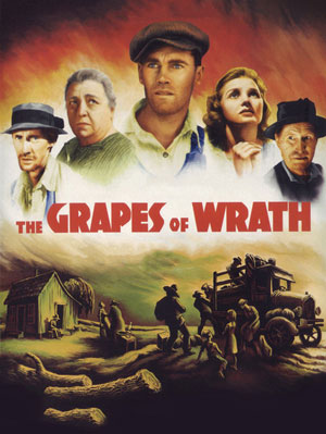 The Grapes of Wrath, route 66
