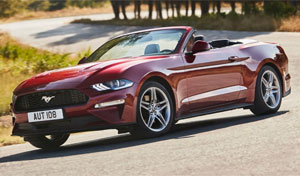 rent a car tour on route 66 Ford Mustang or similar / convertible